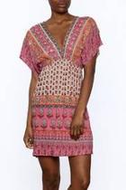 Pink Paradise Bohemian Dress