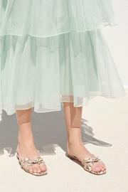 Delicate Strap Flat Sandal