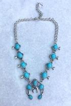 Squash-blossom Collar Necklace