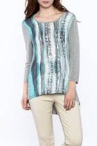 Graphic Tunic Top