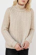 Cozy Mock Turtleneck Sweater