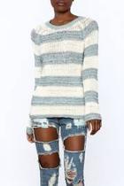 Harrington Stripe Sweater