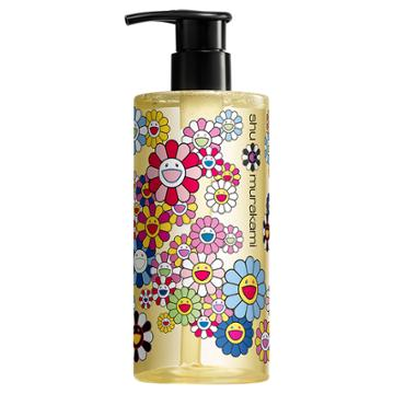 Shu Uemura Art Of Hair Limited Edition Murakami Collection Cleansing Oil Shampoo Gentle Radiance Cleanser For Normal Hair And Scalp 13 Fl Oz / 400 Ml