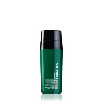 Shu Uemura Art Of Hair Ultimate Remedy Extreme Restoration Duo Serum For Ultra Damaged Hair 1.01 Fl Oz / 30 Ml