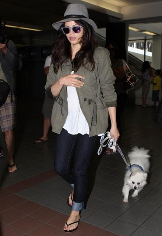 Tkees Liner Leather Sandal As Seen On Jenna Dewan-tatum