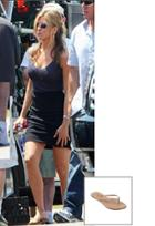 Trove Tkees Foundation Leather Sandal As Seen On Jennifer Aniston