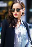 Ray-ban Rb3016 Clubmaster 49mm Sunglasses As Seen On Jamie Chung