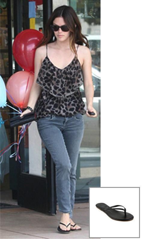 Trove Tkees Liner Leather Sandal As Seen On Rachel Bilson