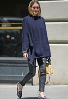 J Brand Edita Mid Rise Leather Legging As Seen On Olivia Palermo