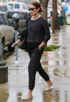 Tkees Foundation Leather Sandal As Seen On Emily Blunt