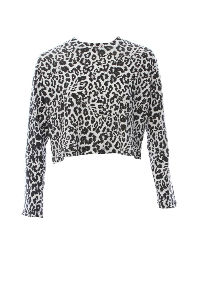 Lna Nat Crop Long Sleeve Top