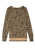 Lna Brushed Leopard Raglan