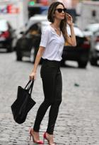 Citizens Of Humanity Rocket Leatherette Jeans As Seen On Lily Aldridge