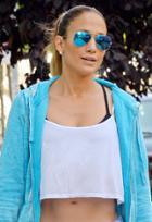 Ray-ban Rb3025 Aviator Flash Lenses 58 Mm Sunglasses As Seen On Jennifer Lopez
