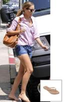 Trove Tkees Foundation Leather Sandal As Seen On Lauren Conrad