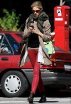 Citizens Of Humanity Rocket Leatherette Jeans As Seen On Karolina Kurkova