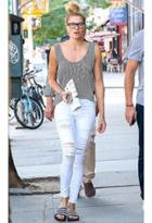 Frame Denim Le Color Ripped Jean As Seen On Jessica Hart