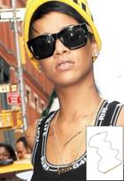 Jennifer Zeuner Chelsea Horizontal Integrated Bar Necklace With Diamond As Seen On Rihanna