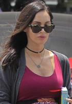 Jennifer Zeuner Ivy Gia Satin Choker As Seen On Megan Fox