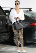 Frame Denim Ali High Rise Cigarette Jean As Seen On Alessandra Ambrosio