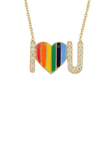 Alex Mika I Love You Necklace