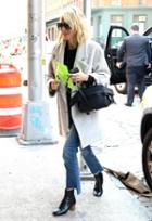 Mother The Insider Crop Step Fray Jean As Seen On Naomi Watts