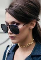 Quay Eyewear Needing Fame Sunglasses As Seen On Bella Hadid