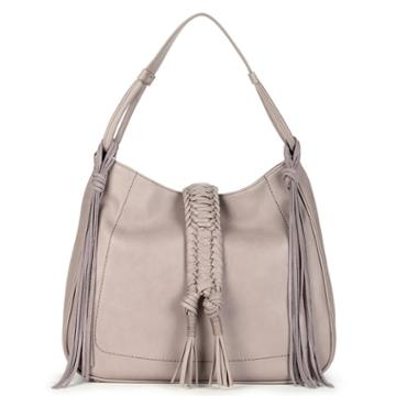 Sole Society Sole Society Vale Braided Tote W/ Tassel - Taupe-one Size