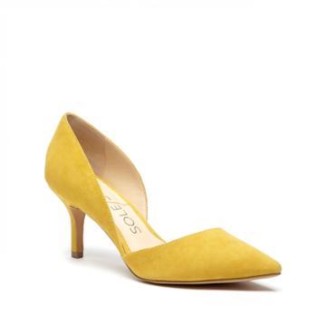 Sole Society Sole Society Jenn Dorsay Pump - Mustard-5.5