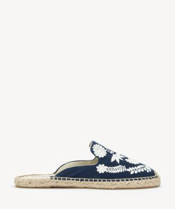 Soludos Soludos Ibiza Embroidered Mule Embroidered Slide