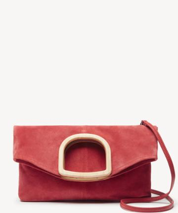 Lucky Brand Lucky Brand Women's Riso Clutch Poppy Red From Sole Society