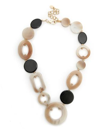 Sole Society Women's Desert Mosaic Statement Necklace Brown Combo One Size From Sole Society