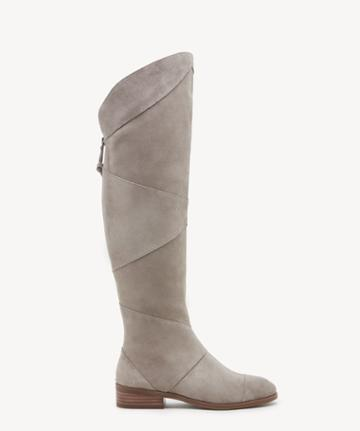 Sole Society Women's Tiff Otk Boots Mushroom Size 5 Suede From Sole Society