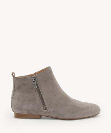 Lucky Brand Lucky Brand Women's Glexi Flats Bootie Titanium Size 6 Suede From Sole Society