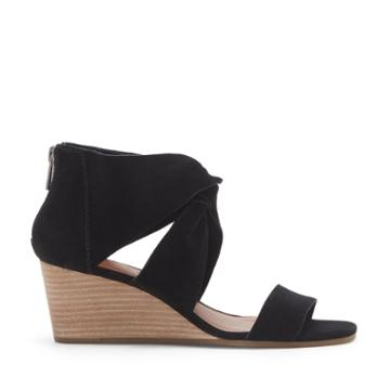 Lucky Brand Lucky Brand Tammanee Knotted Wedge - Black-6