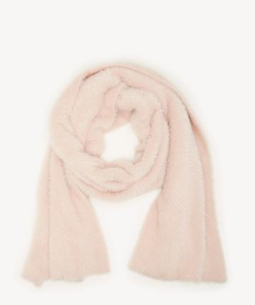 Sole Society Women's Shaggy Over Scarf Blush Polyamide From Sole Society