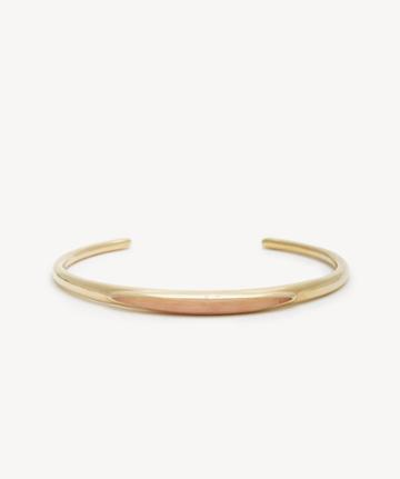 Sole Society Women's Cuff Bracelet 12k Soft Polish Gold/coral Size Onesize From Sole Society