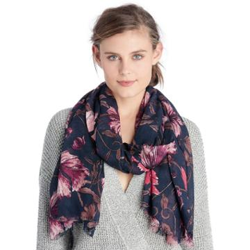 Sole Society Sole Society Floral Scarf - Multi
