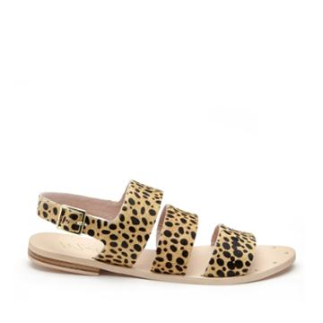 Matisse Matisse Owen 3 Band Sandal - Leopard