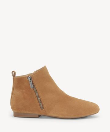 Lucky Brand Lucky Brand Women's Glexi Flats Bootie Macaroon Size 6 Suede From Sole Society