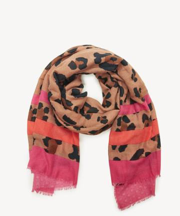 Sole Society Women's Exotic Printed Scarf Brown Combo From Sole Society