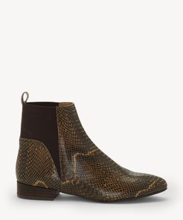Lucky Brand Lucky Brand Women's Gledo Flats Bootie Cedar Size 10 Suede From Sole Society