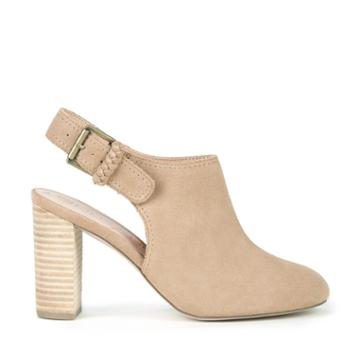 Sole Society Sole Society Apollo Backless Bootie - Sand-5