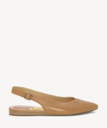 Lucky Brand Lucky Brand Women's Beratan Slingback Pointed Toe Flats Macaroon Size 5 From Sole Society