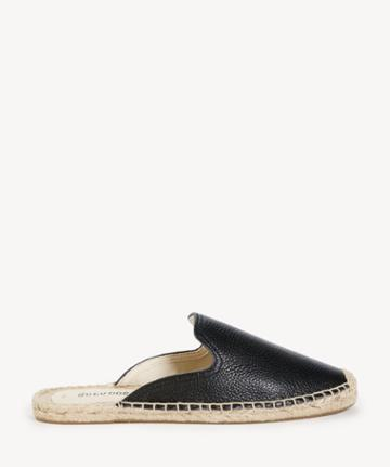 Soludos Soludos Women's Tumbled Leather Mules Black Size 6 From Sole Society