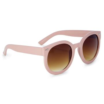 Sole Society Sole Society Brennan Classic Oversize Sunglasses - Blush-one Size