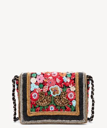 Sole Society Women's Lavon Crossbody Bag Beaded Multi From Sole Society