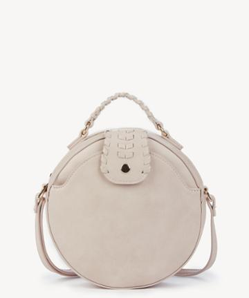 Sole Society Women's Aerin Vegan Canteen Crossbody Bag Blush Vegan Leather From Sole Society