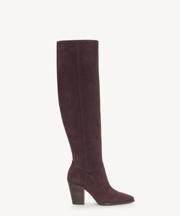Lucky Brand Lucky Brand Women's Azoola Tall Boots Raisin Size 5 Leather From Sole Society