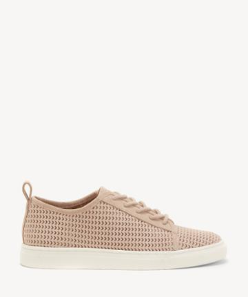 Lucky Brand Lucky Brand Women's Lawove Lace Up Sneakers Bijou Size 5 Suede From Sole Society